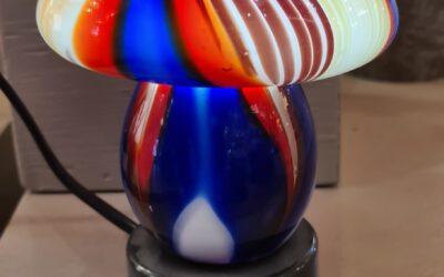 tafellamp glas van € 39.95 voor € 20.00